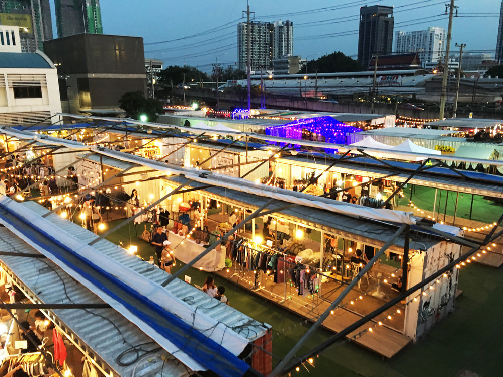 Artbox, a traveling pop up market in Bangkok