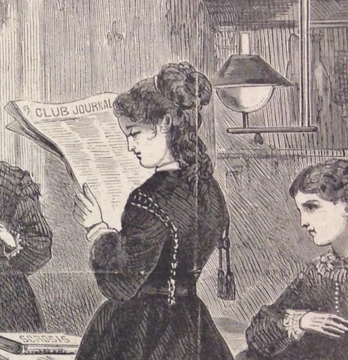 """From """"Mothers, Ancient and Modern,""""  Harper's Bazaar , March 12, 1870"""