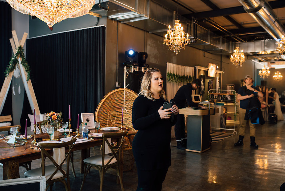 Samuelle Bender:  CO- FOUNDER & DIRECTOR Wedding planner & Stylist // @samandbeeweddings This lady was on board with the project before Victoria even spoke to her about it. She's oh-so organized, creative beyond measure, and can plan an event of any kind in her sleep!