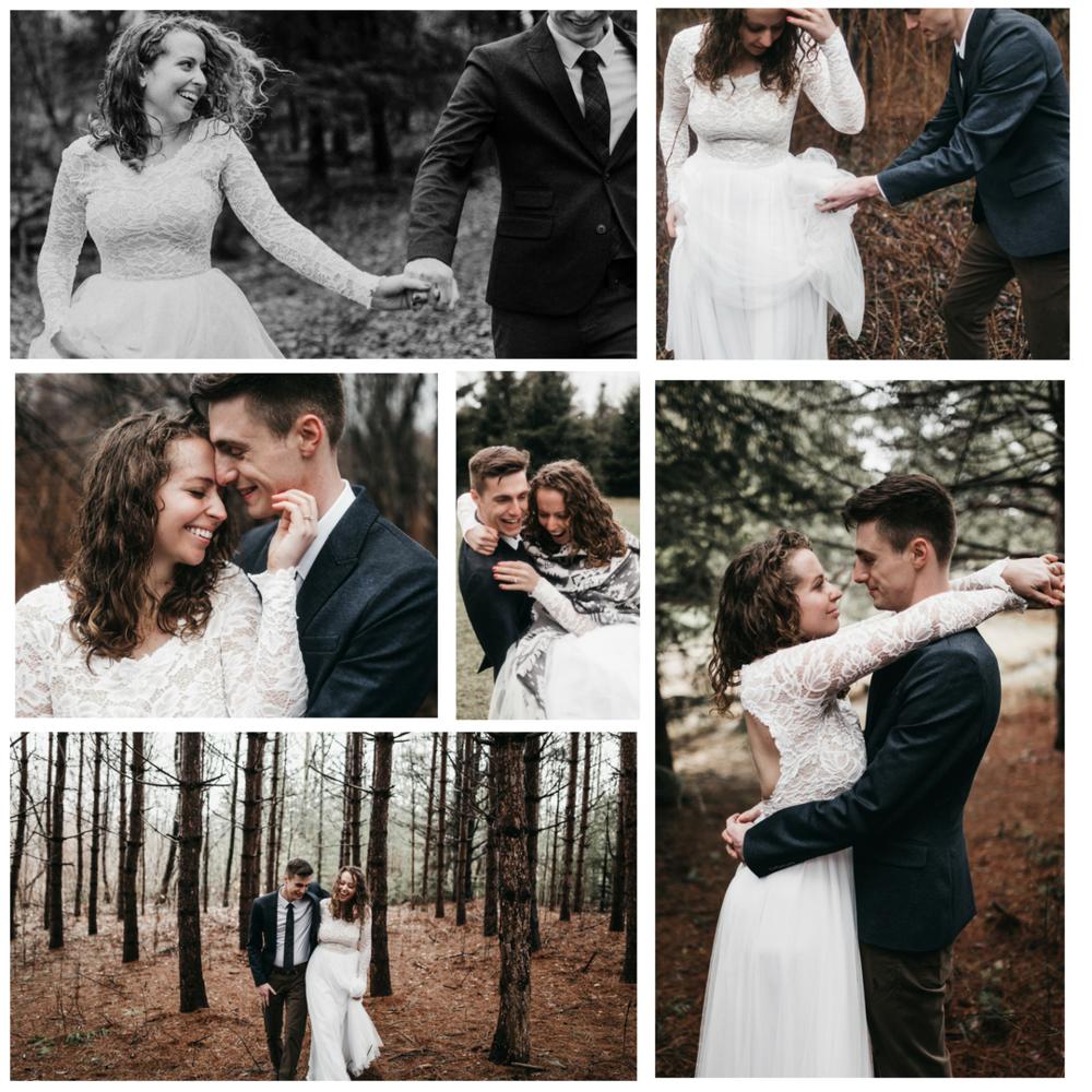 Woodsy elopement   Lieu / Venue  La Maison Bohème   Photographe/Photographer  Athena and Camron