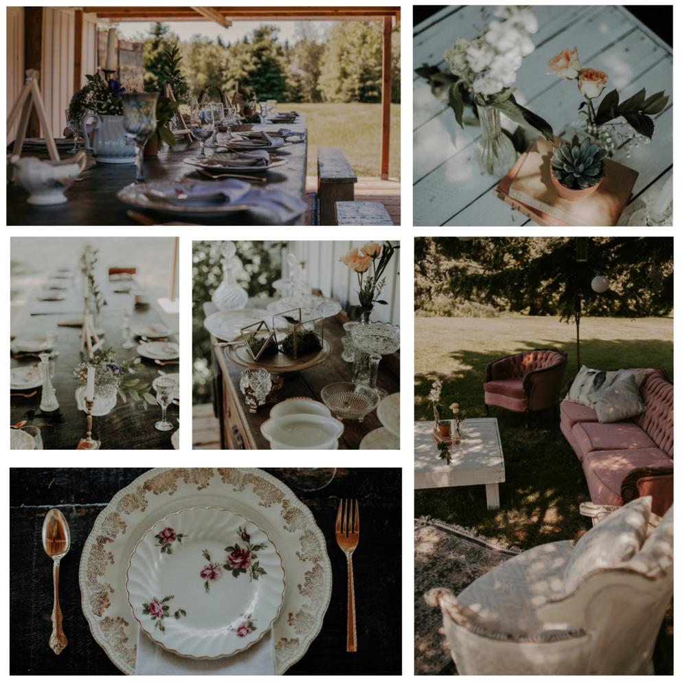 TEA party   Lieu / Venue  La Maison Boheme   Photographe/Photographer  Jay Zack Eli Photographe   Design, stylisme + location / Design, styling+ rentals  Le Coeur Bohème