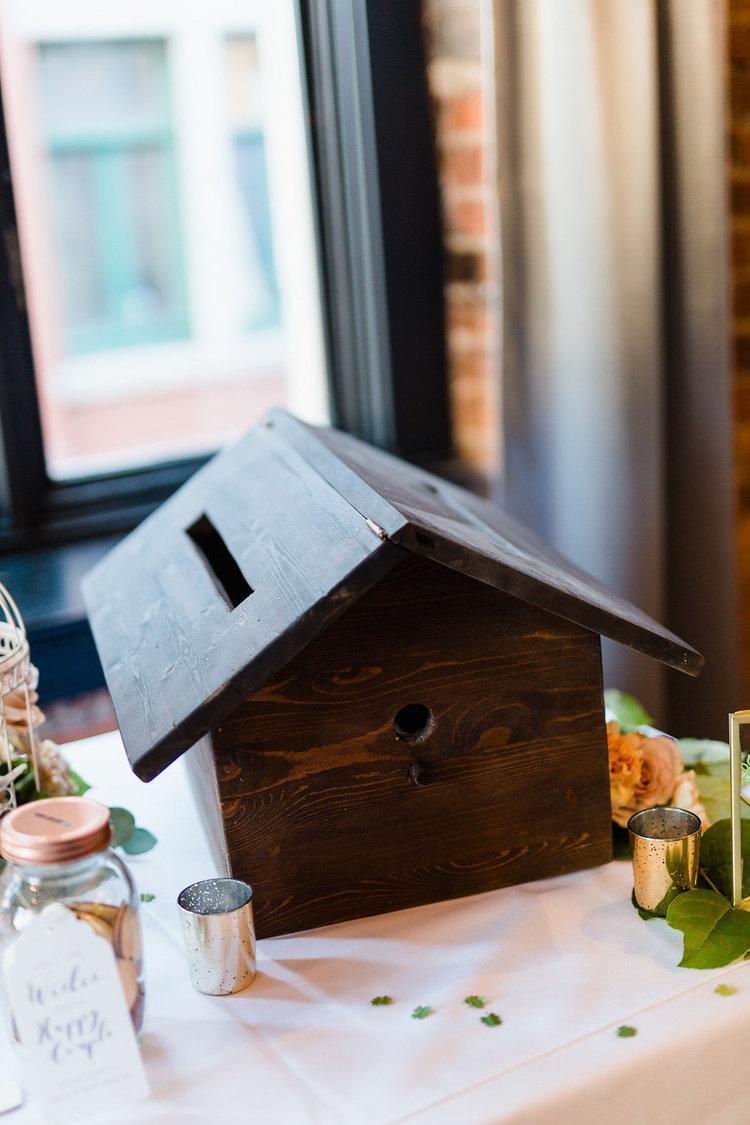 1112    Maison d'oiseaux pour enveloppe / Birdhouse Envelop Box    1