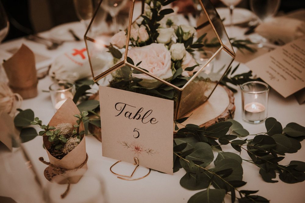 Numéro de table / Table numbers    Personnalisé / Custom