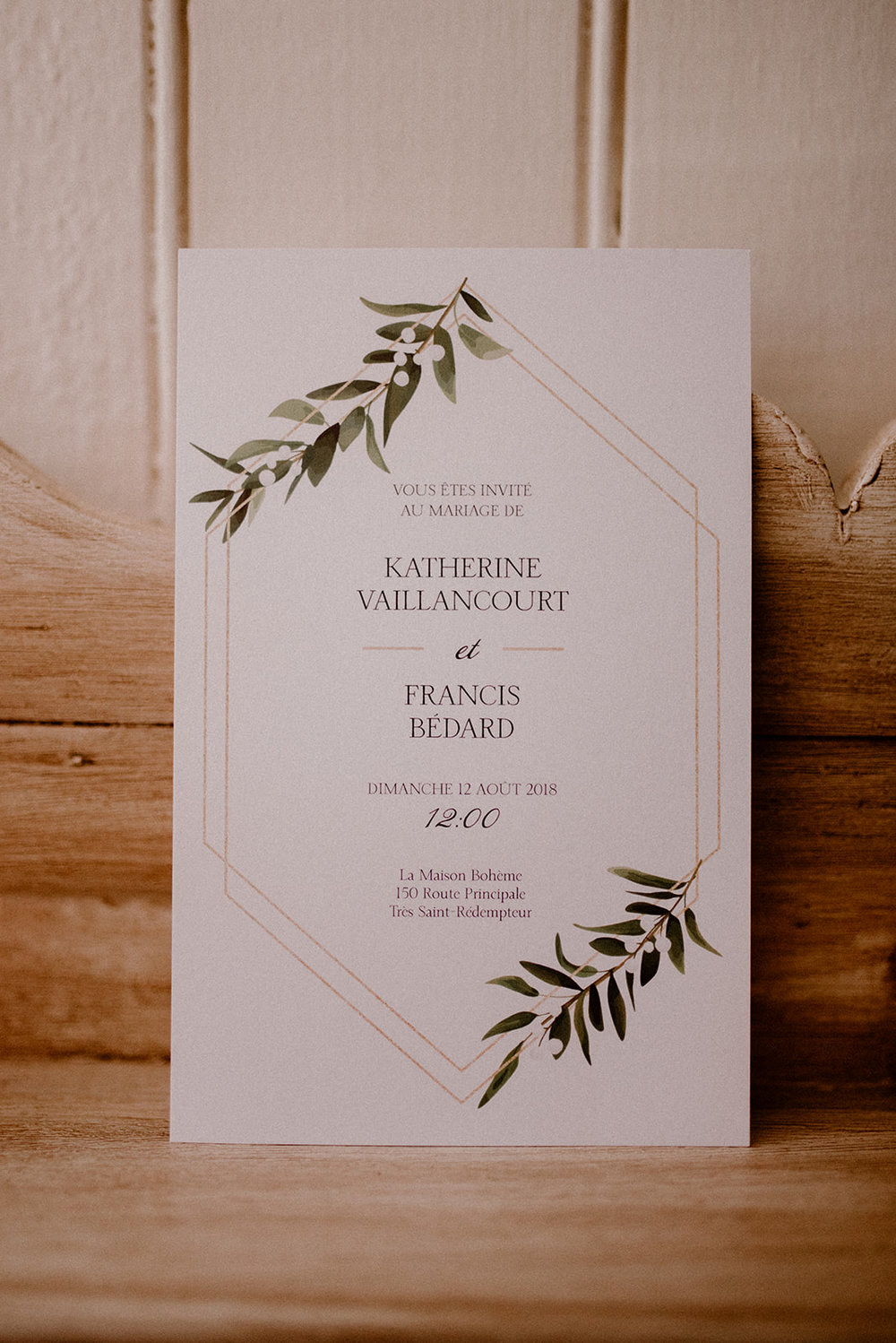 Faire parts / Invitations    Personnalisé / Custom