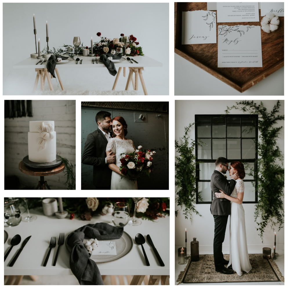 H O L I D A Y   Lieu / Venue  l'Éloi   Photographe/Photographer  Planification and stylisme / Planning & Styling  Kismet & Clover   Fleurs/Flowers