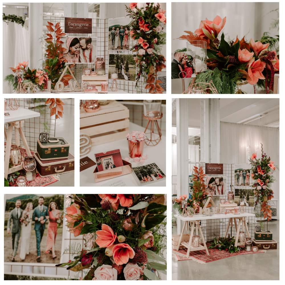 Elegant Wedding Show   Photographe/Photographer  L'orangerie Photography   Fleurs / Flowers  Oh Fleurs