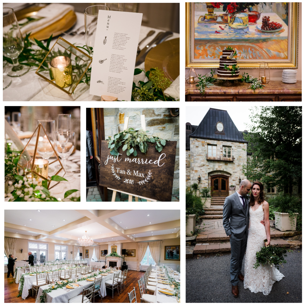 Tania + Maxime   Lieu / Venue  Chateau Taillefer Lafon   Photographe/Photographer  Bodoum Photographie   Stylisme et location / Styling and rentals  Le Coeur Bohème   Fleurs / Flowers  À la vie au vert   Robe / Dress  Dream it yourself boutique