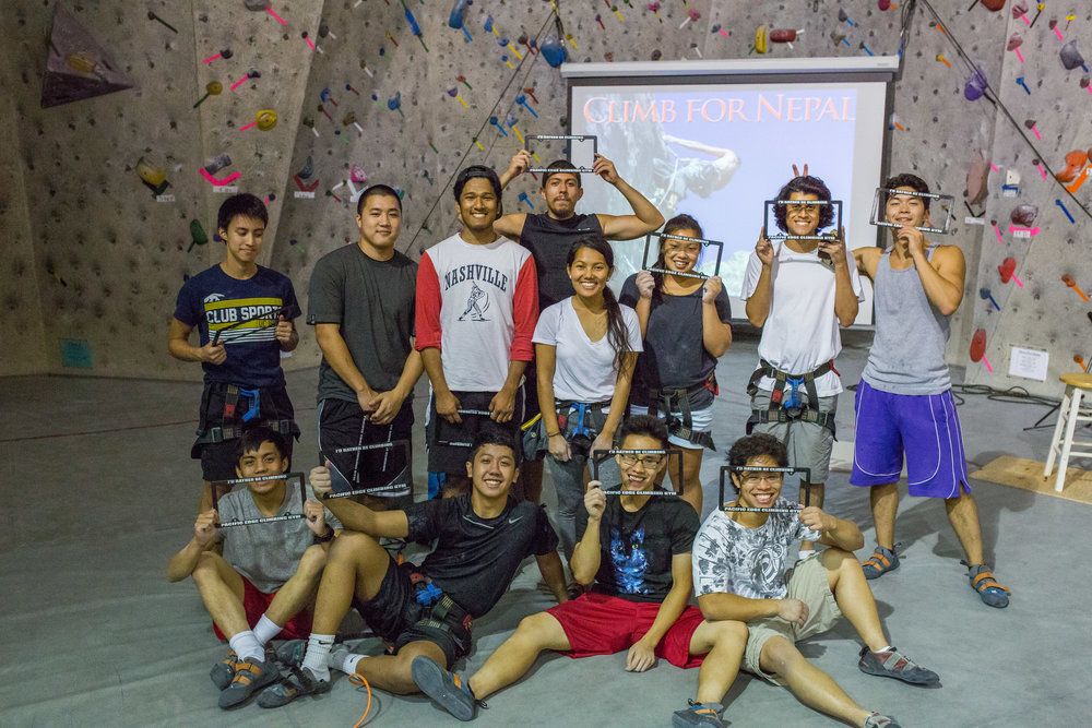 First Time Climbers at the 2015 Climb for Nepal Event 2015