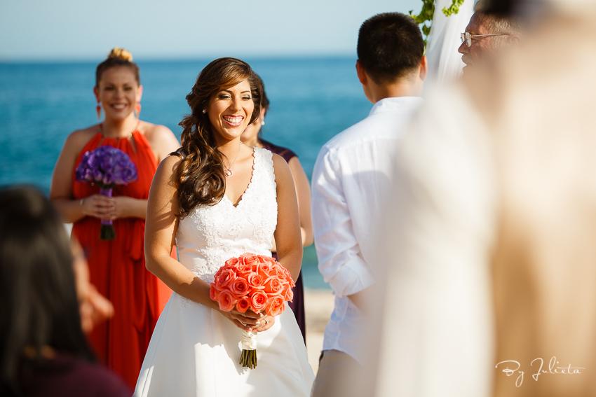 esperanza beach wedding