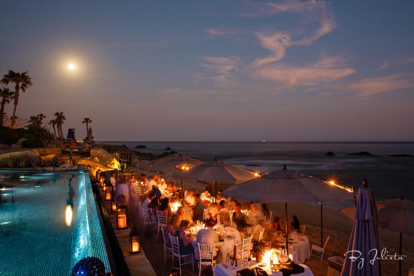 cabo sunset wedding