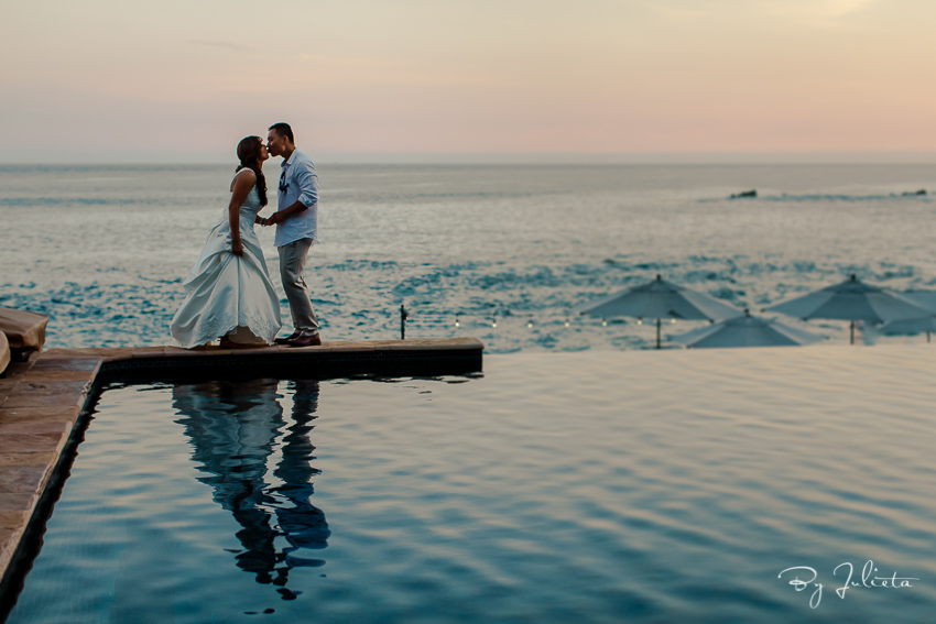 cabo sunset wedding photography