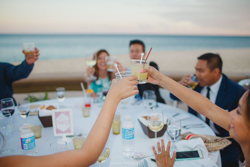 cabo toasts wedding