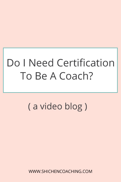 Do I Need Certication to Be a Coach?