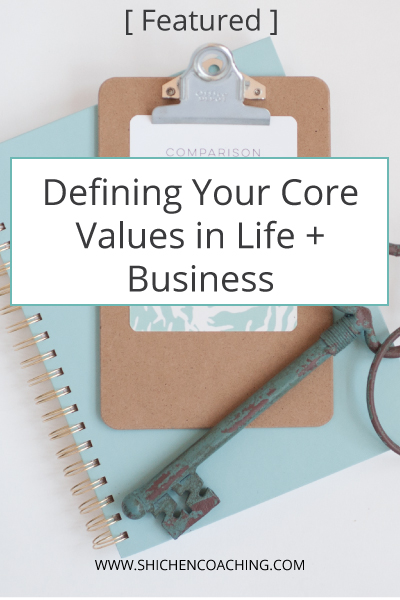 importance of core values in life