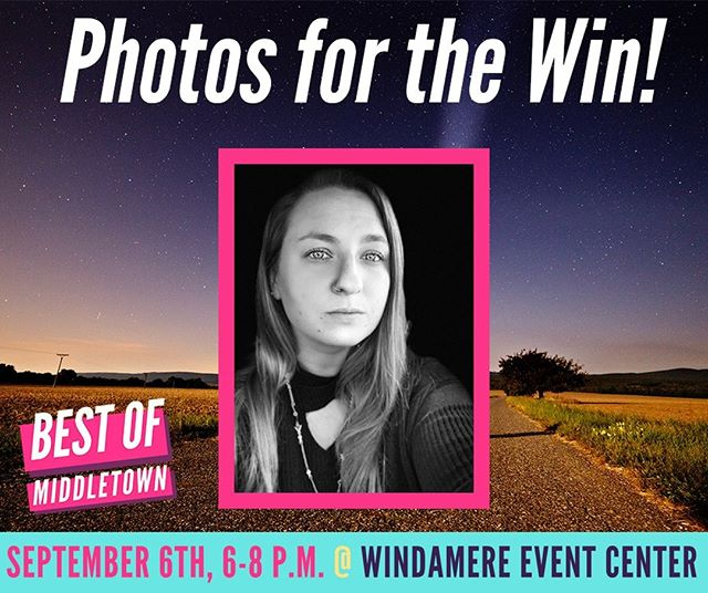 Say cheese for Brie Rumore with BRumore Crafts ! She will be the Best of Middletown Shutterbug helping capture all the 'Best' memories of the night at our Special Event on September 6th! 🏆📸 Be sure to like BRumore Crafts on Facebook and check out the website https://etsy.me/2BCe3HS!