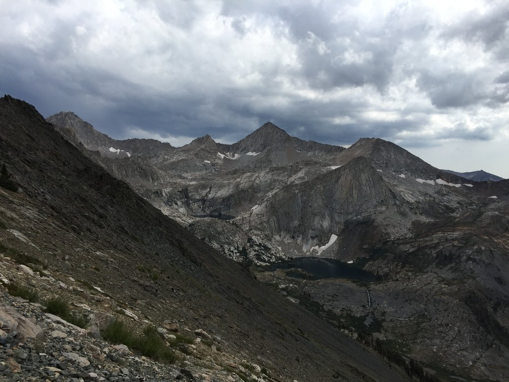 Series of glacial lakes
