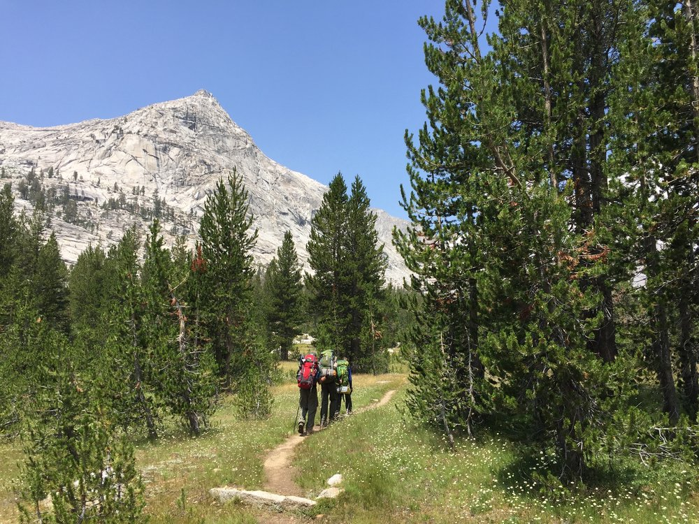 Back on the trail, Day Four