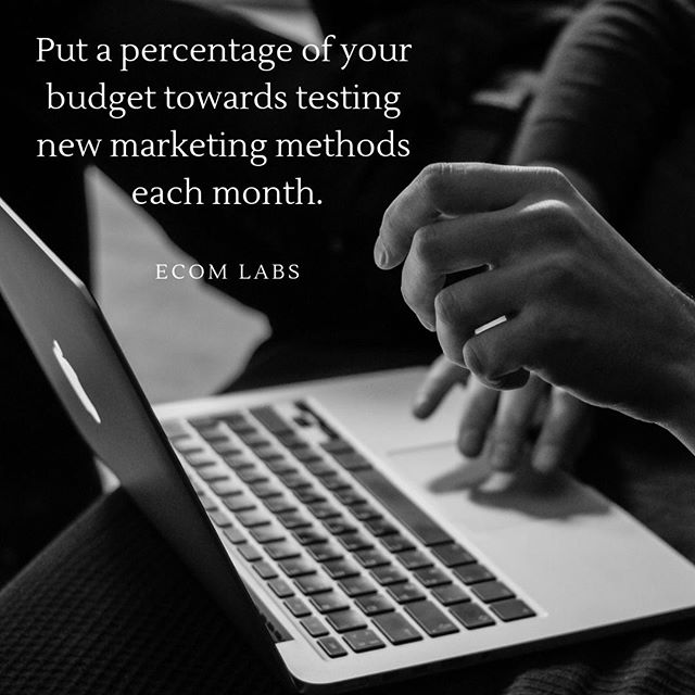 If you put a percentage of your overall marketing budget towards testing new ideas each month you will find out what does and doesn't work for your company. . Some tests will fail, some tests will work; but do this for at least 6 months and you will end up having a marketing strategy that gets you ahead of the competition!