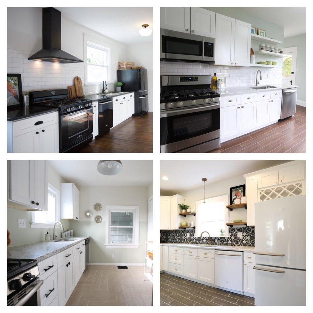 White Kitchen Cabinets, 4 Ways — Revival Designs