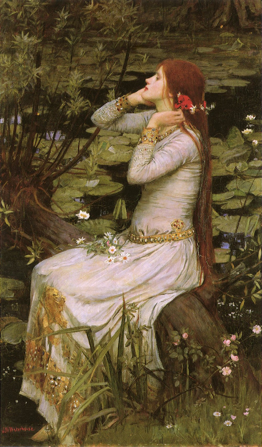 John William Waterhouse's  Ophelia , 1894.