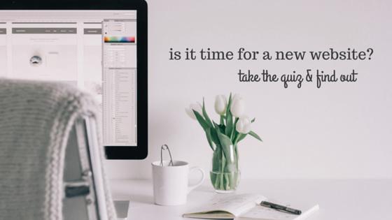 new website quiz
