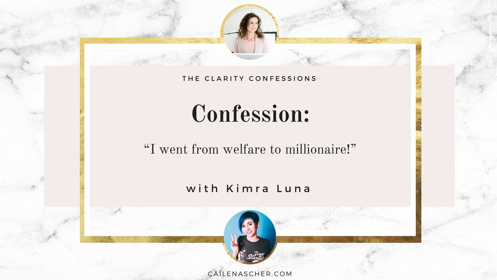 The Clarity Confessions with Cailen Ascher featuring Kimra Luna