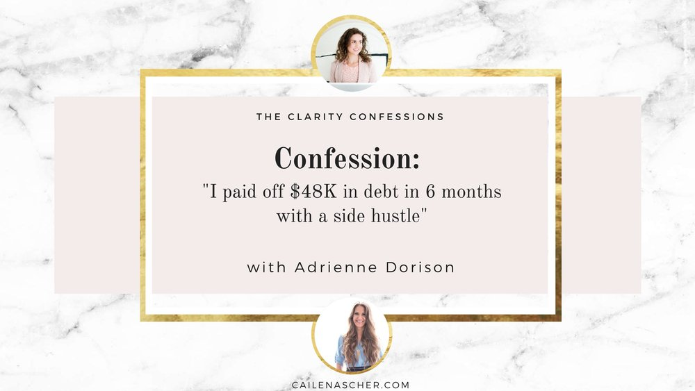 The Clarity Confessions with Cailen Ascher - Adrienne Dorison - YouTube Thumbnail.jpg