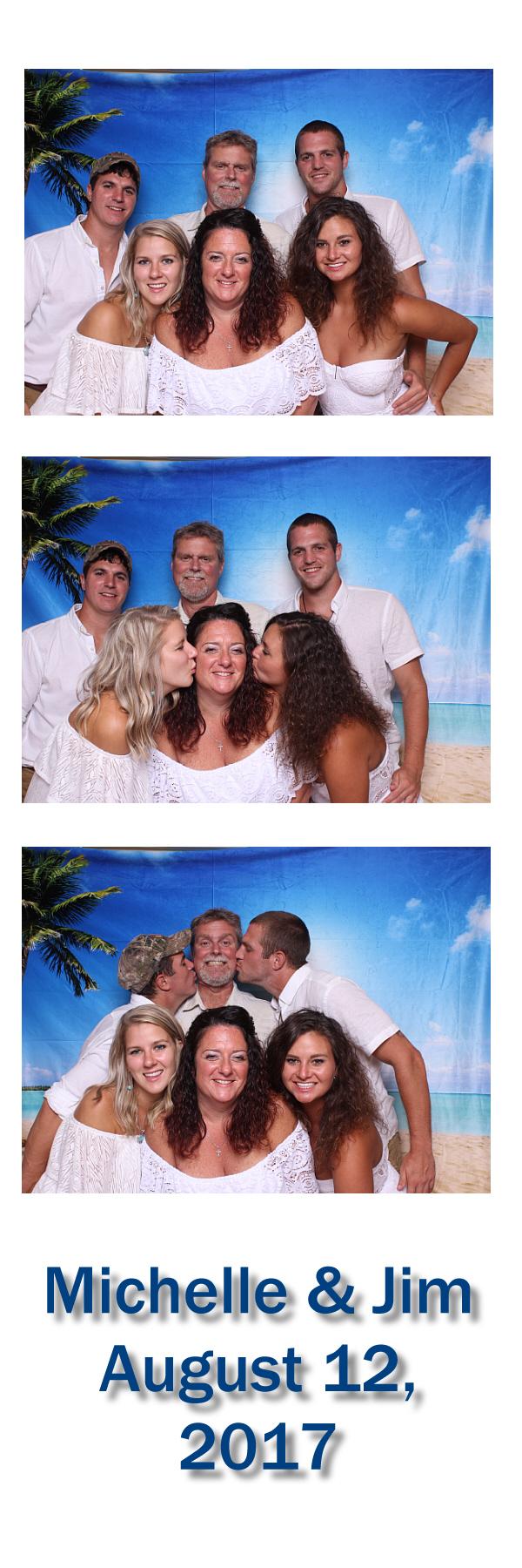 2x6 Wedding Photo Booth Strip - 3 UP