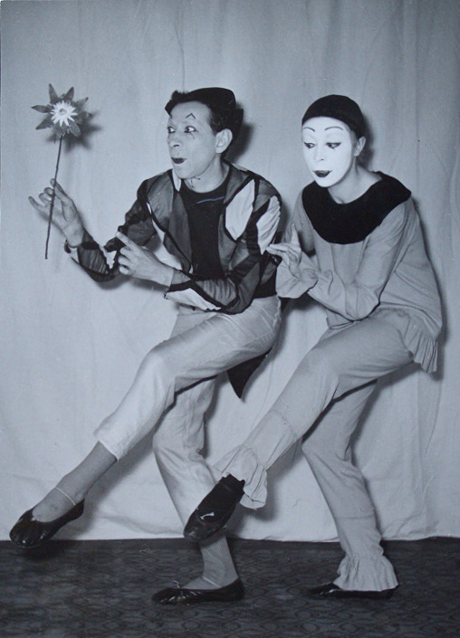 Married Mimes:  Jean and Brigitte Soubeyran