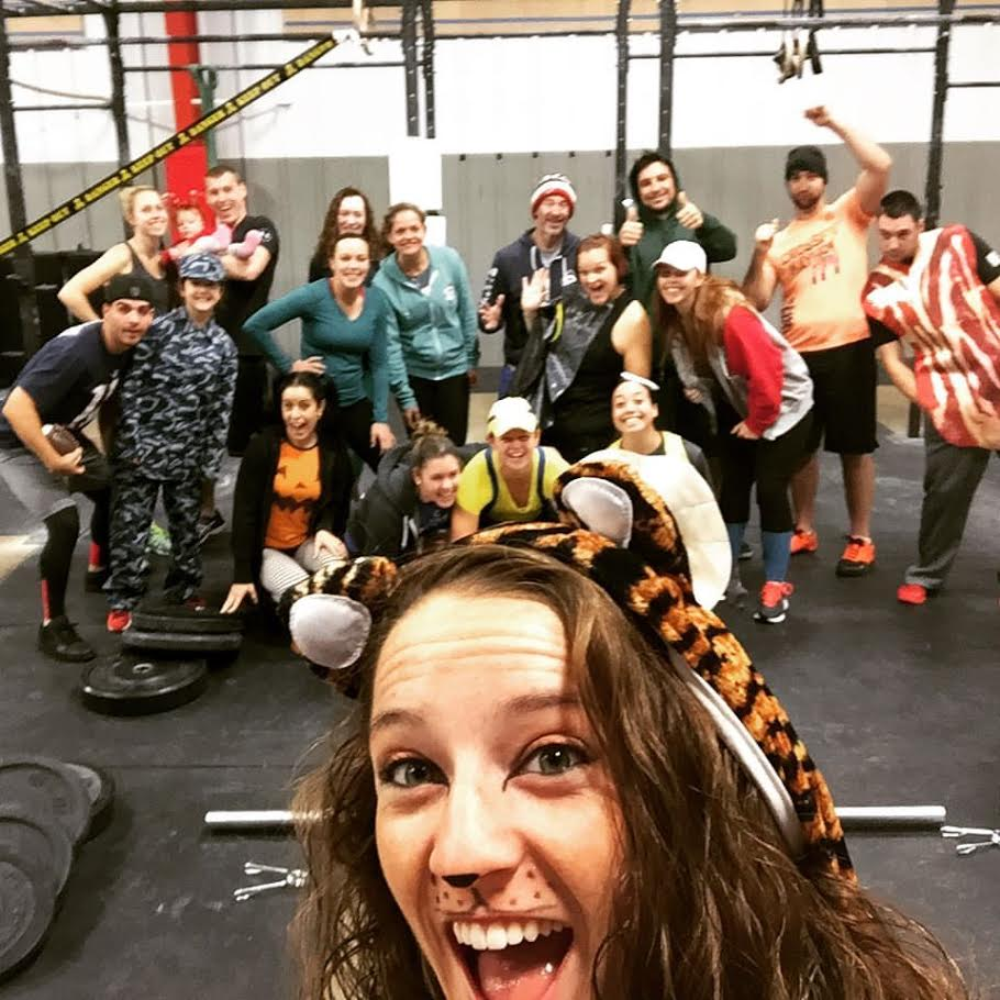 Myself and some our members for my Halloween WOD