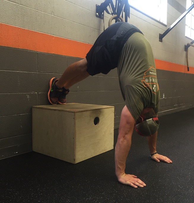 This weeks handstand push up scale is pictured above.