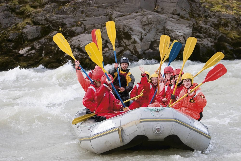 Whitewater rafting in the mountains of Costa Rica? Yeah, we're in.