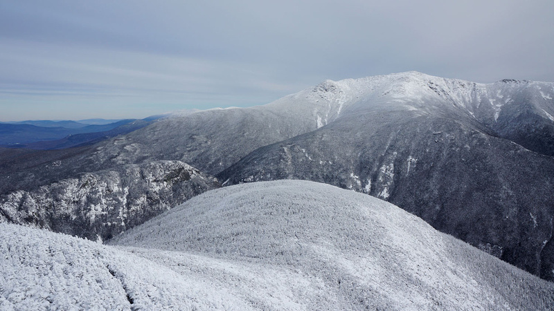 Not bad, right? Cannon Mountain Summit via Kinsman Ridge