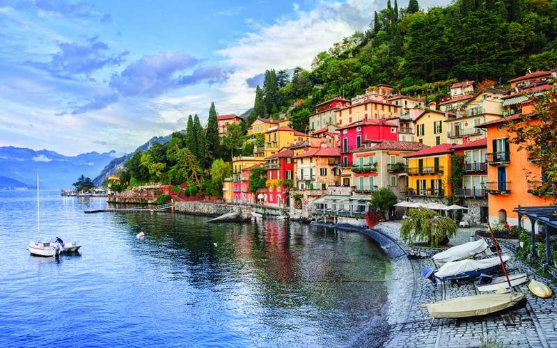 Lake Como's serenity is only eclipsed by it's majestic 100 mile coastline.