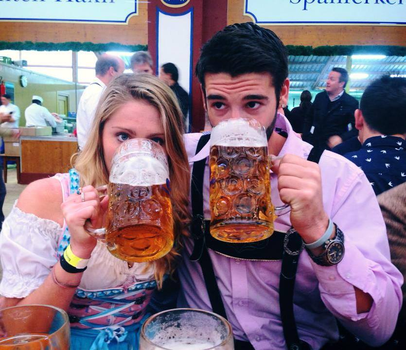 Whether you're going for one stein - or twelve - make sure to arrive early