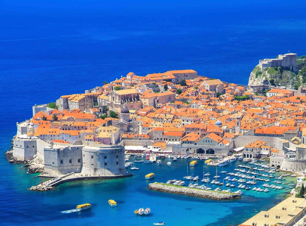 Dubrovnik, Croatia - you'll spend two days here on our VoyEdge RX trip.