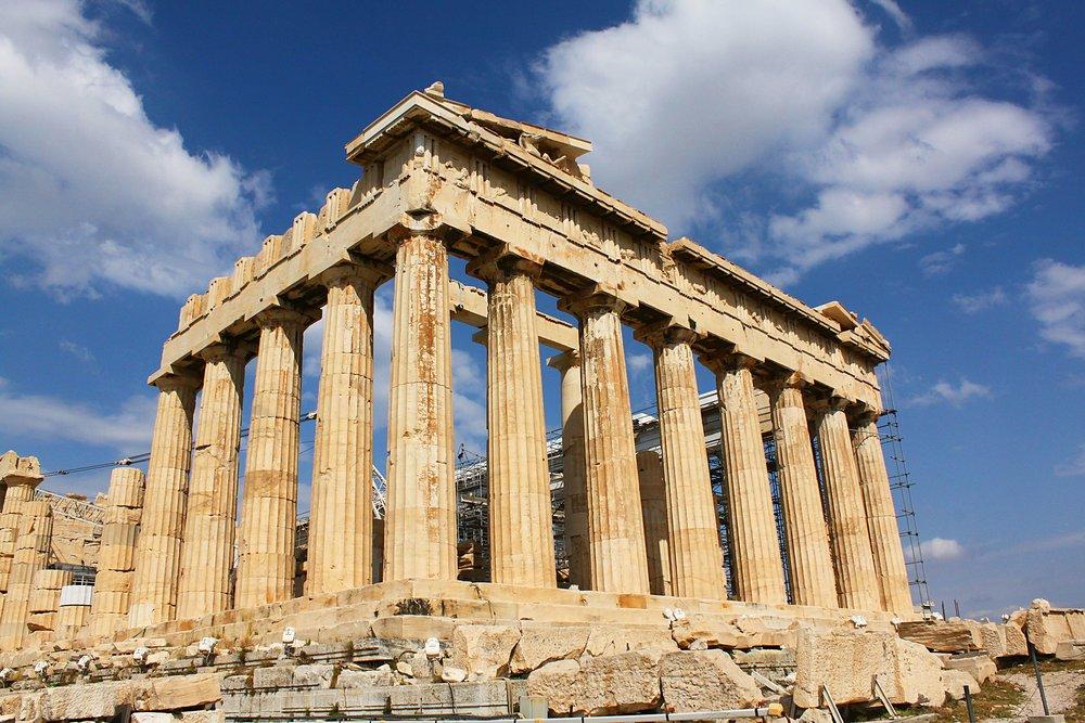 parthenon greece voyedge rx tour