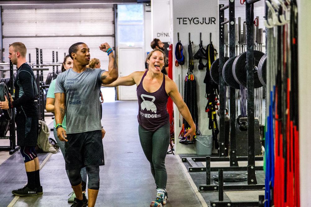 teamwork makes the dream work voyedge rx adventure travel fitness crossfit reykjavik