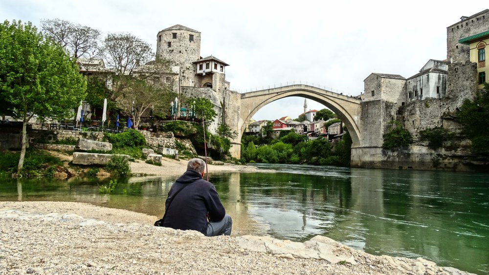 mostar bridge bosnia voyedge rx