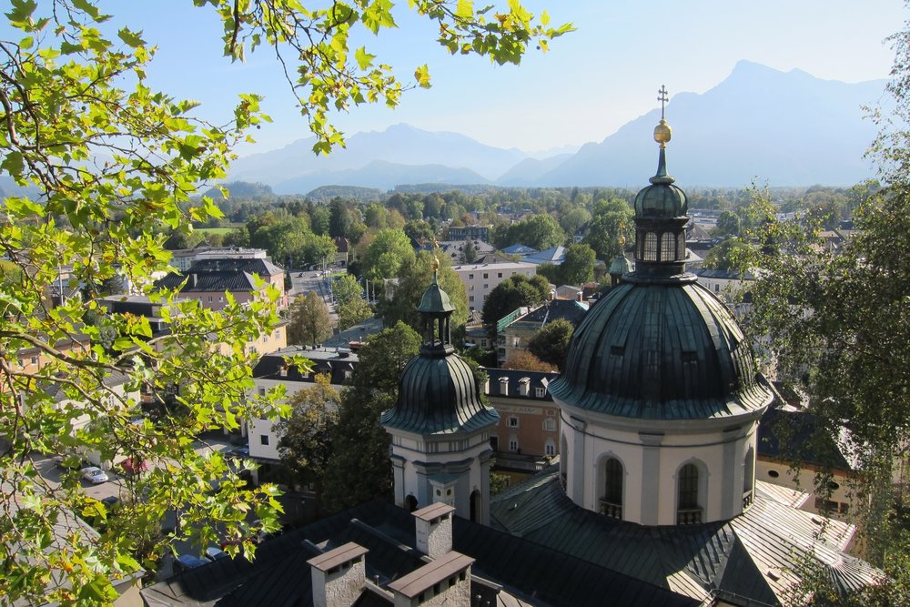 Salzburg is actually stunningly beautiful in the spring. Home to Red Bull, The Sound of Music and so much more.