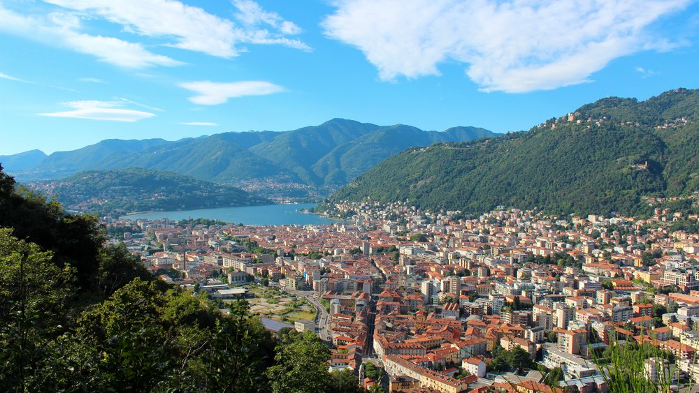 The buildings around Lake Como will leave you breathless in awe