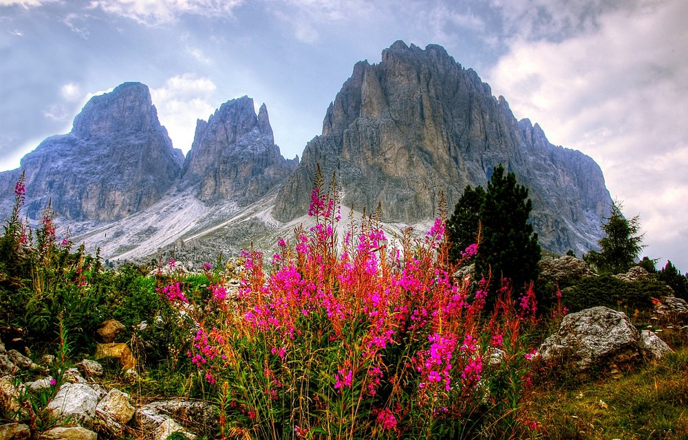 The Dolomite Mountain range is part of the 'Alps' but is given another name, due to its ties to Italy.