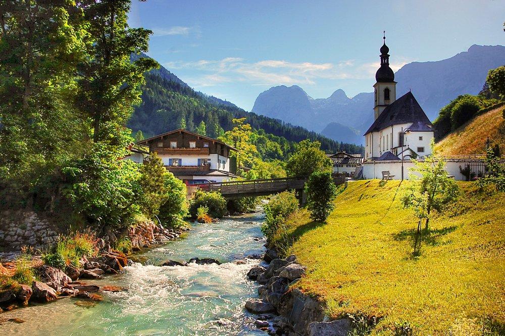 The Berchtesgaden National Park in Austria