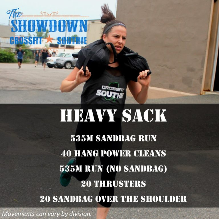 heavy sack crossfit southie