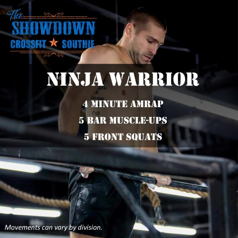 ninja warrior crossfit southie showdown wod