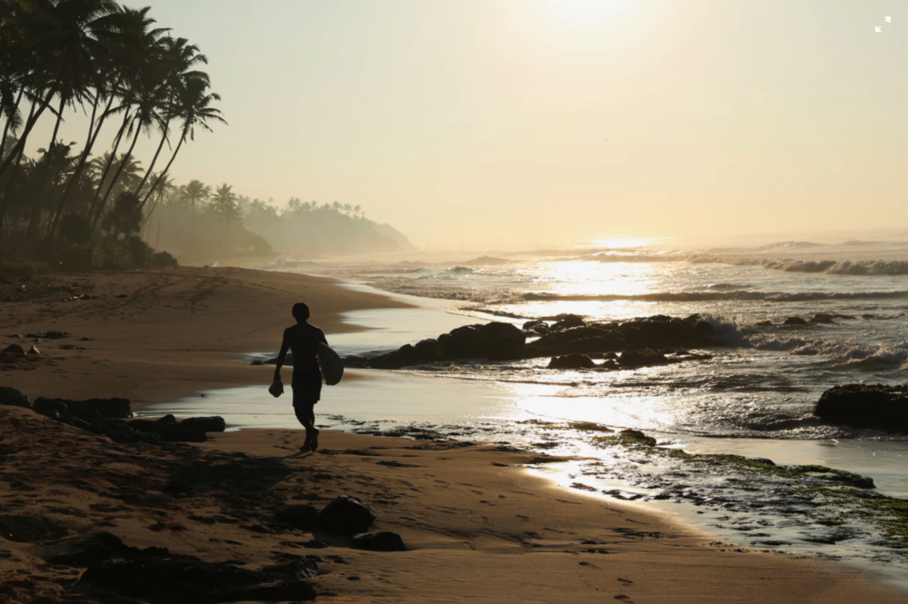 Surfing in Puerto Viejo, Costa Rica on untouched beaches