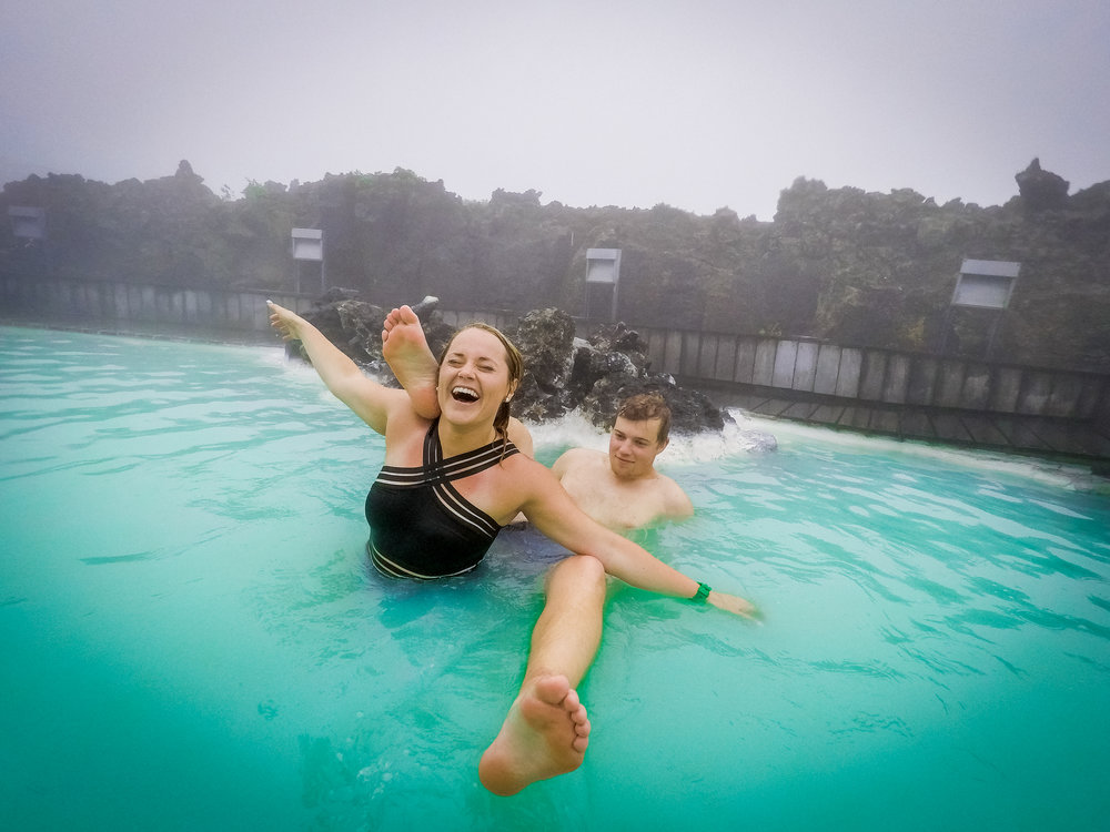 Every has an IG-famous photo from the Blue Lagoon. Just try to find some space for that picture-perfect photo!
