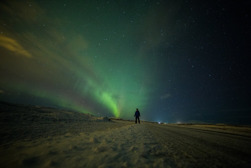 The Northern Lights can be very difficult to catch. You're going to need some luck!