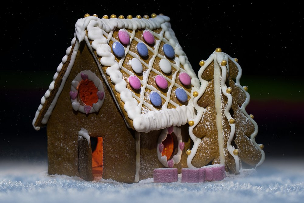 The inspiration for Gingerbread houses led to an architectural revolution.