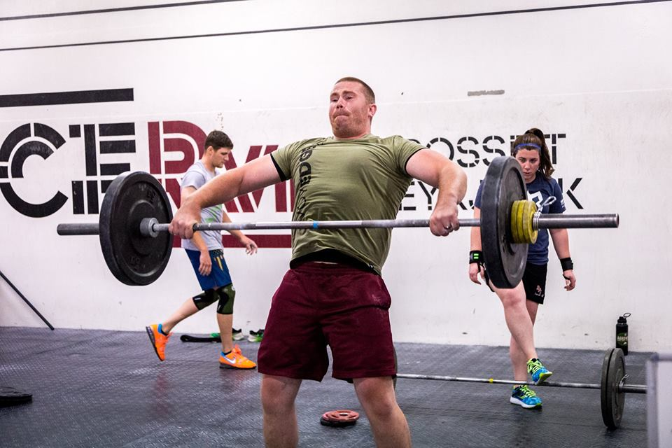 Ryan St. German @ CrossFit Reykjavik with VoyEdge RX in 2017.